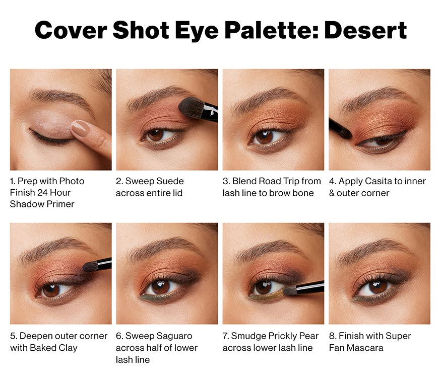 Cover Shot Eye Palettes